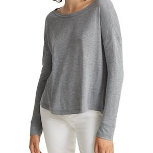 NWT CLUB MONACO | nawallie tee in grey size xs